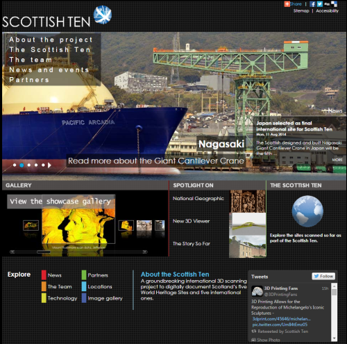 Scottish Ten Project homepage - www.scottishten.org