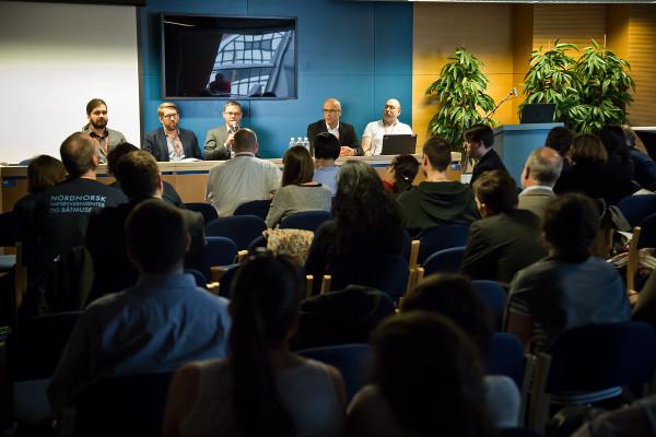 Dyskusja po trzeciej sesji (dokumentacja 3D) części digitalizacyjnej konferencji Condition.2015