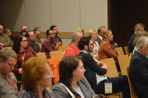 Delegaci w trakcie części konserwatorskiej konferencji Condition.2015
